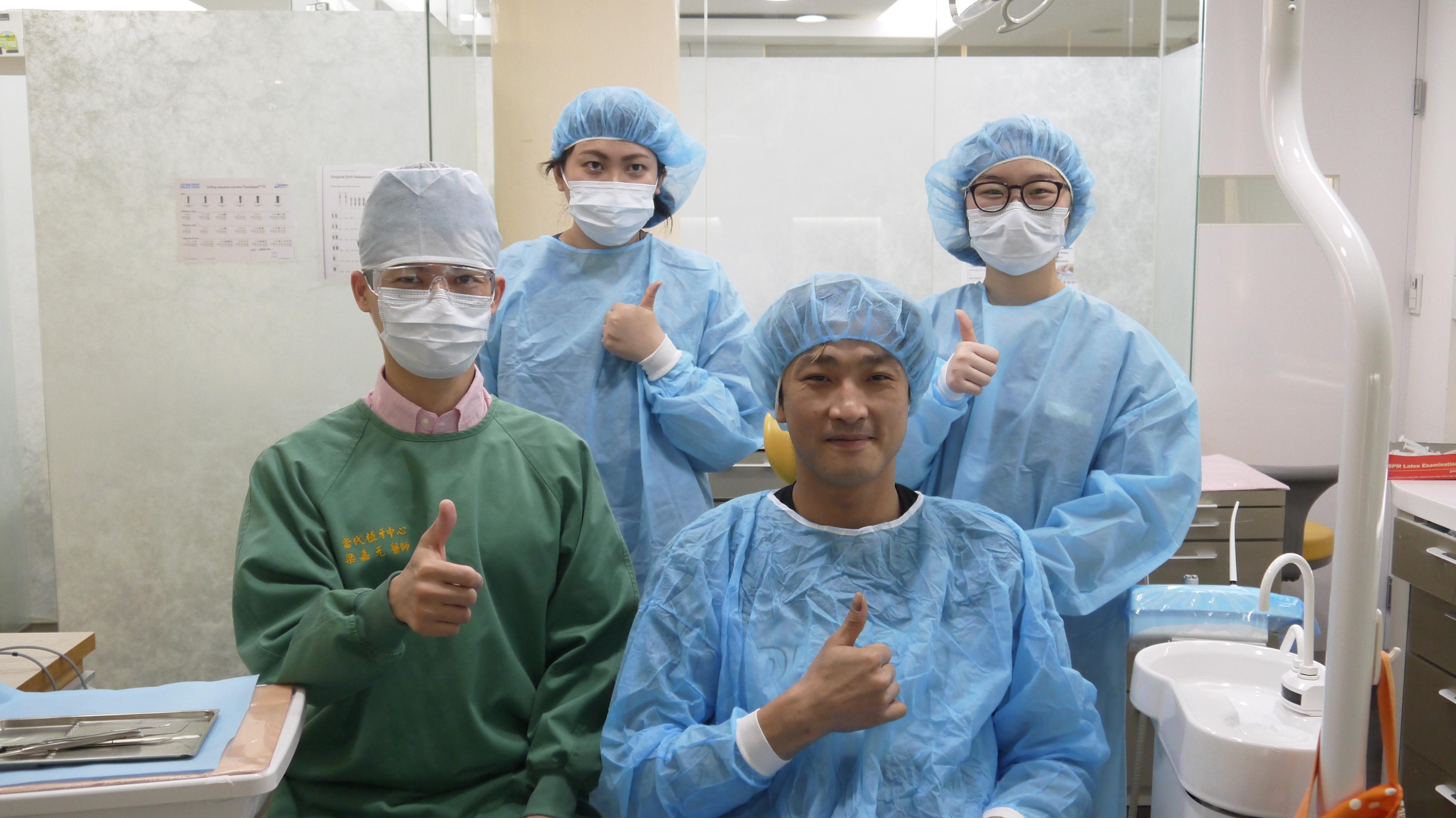 桃園中壢當代牙醫 一日全口重建 病患案例分享 江先生